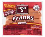 Bar S Meat Franks