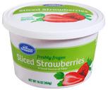Price Chopper Sliced Strawberries