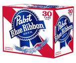 Busch, Busch Light or Pabst Blue Ribbon 30 Pack