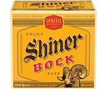 Samuel Adams, Shiner Bock or Sierra Nevada 12 Pack