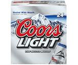 Coors Light or Budweiser 24 Pack