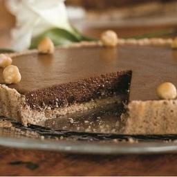 Chocolate Tart with Hazelnut Shortbread Crust | Price Chopper
