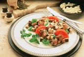 Mediterranean Turkey and Eggplant Stir-Fry