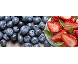 Fresh 1 Lb. Strawberries or 6 oz. Blueberries