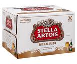 Stella Artois 20 Pack or Heineken or Corona Extra 18 Pack