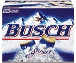 Busch, Busch Light, Rolling Rock or Pabst 30 Pack
