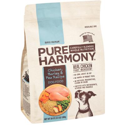 Pure Harmony - Pure Harmony, Super Premium Chicken, Barley & Pea Recipe Dog Food (56 oz) | Shop ...