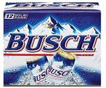 Busch, Natural Light or Keysone Light 12 Pack