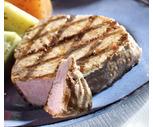 Wild Sockeye Salmon Fillets or Ahi Tuna Steaks