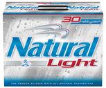 Natural Light, Busch or Narragansett 30 Pack