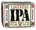 Lagunitas or Peak Organic 12 Pack