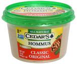 Cedars Hommus 16 oz.