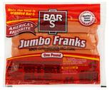 Bar S Jumbo Meat Franks