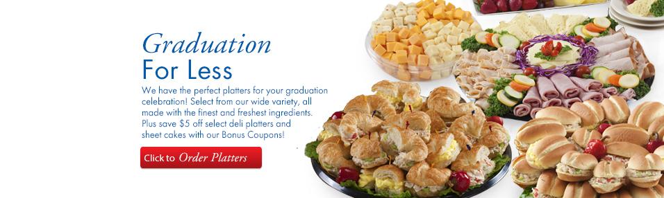 Graduation Platters