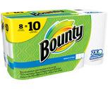 Bounty Paper Towels 8 Roll