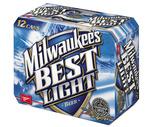 Natural Light, Keystone Light or Milwaukee's Best 12 Pack
