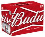Budweiser or Bud Light 30 Pack