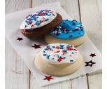 Soft Iced Patriotic Cookies