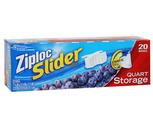Ziploc Slider Food Storage Bags