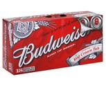 Budweiser, Coors Light, Labatt Blue or Miller Lite 18 Pack