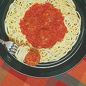Traditional Spaghetti and Meatballs