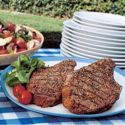 Balsamic Peppercorn Steak
