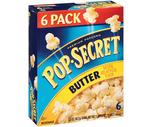 Pop-Secret Popcorn 6 or 10 Pack