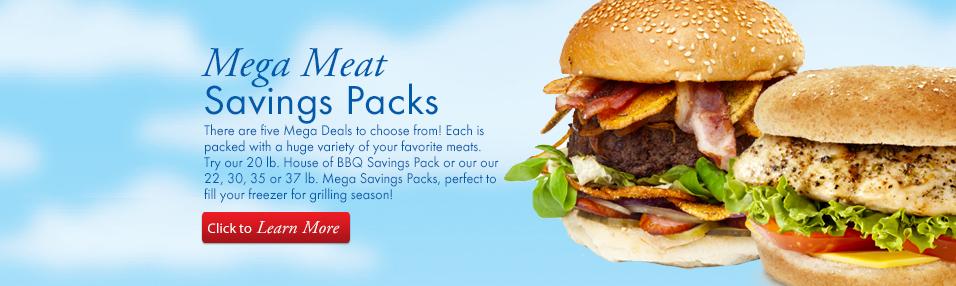 Mega Savings Packs