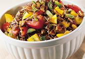 Minted Wild Rice Salad