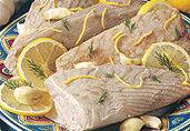 Mediterranean Tuna Steaks and Chunk Vegetable Salad