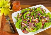 Thai Grilled Lamb and Asparagus Salad