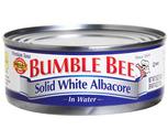 Bumble Bee Solid White Tuna