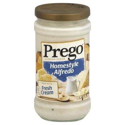 Prego, Alfredo Sauce, Homestyle Alfredo