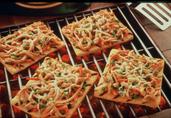 Grilled Thai Turkey Pizza