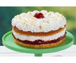 "8"" Boston Creme Cake or Double Layer Strawberry Shortcake"