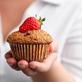 Strawberry Bran Muffin