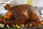 Roasted Turkey with Smoked Paprika