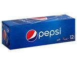 Pepsi, Diet Pepsi, Mtn Dew, Schweppes Ginger Ale or Seltzer 12 Pack