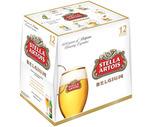 Stella Artois or Blue Moon 12 Pack or Shock-Top 15 Pack