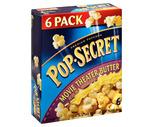 Pop-Secret Popcorn 6 or 10 Mini Packs