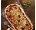 Mushroom Blue Pizza