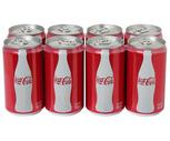 Coca-Cola, Sprite or Diet Coke 8 Pack