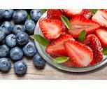 Fresh Pint Blueberries or 1 Lb. Strawberries