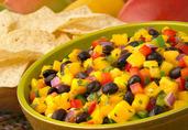 Ingrid Hoffmanns Cinco de Mango Black Bean Salsa