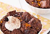 Cinnamon-Chocolate Souffles