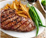 Chiappetti Grass Fed Beef Boneless Strip or Rib Eye Steak