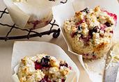 Cranberry-Buttermilk Muffins