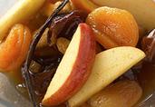 Apple Fruit Stew with Vanilla Essence