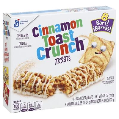 Cinnamon Toast Crunch, Treat Bars