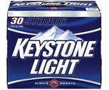 Keystone Light or Genesee 30 Pack